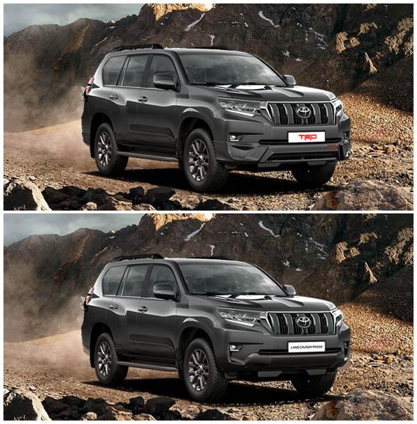 Land Cruiser Prado 150 TRD и Land Cruiser Prado 150