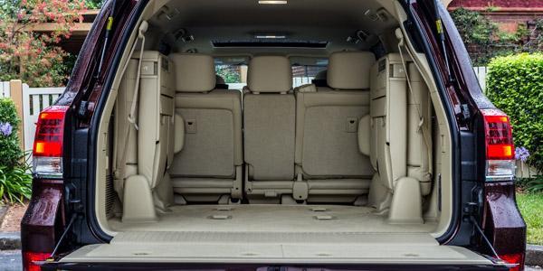 Дверь багажника Land Cruiser 200