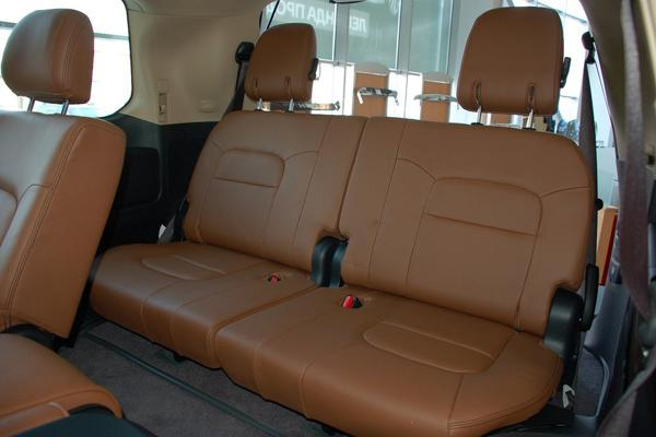 Третий ряд сидений Land Cruiser 200