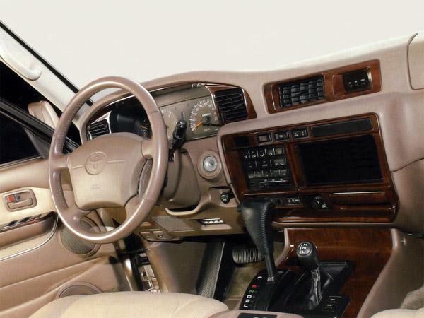 Интерьер Land Cruiser 80