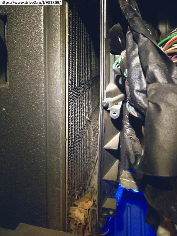 Радиатор загрязнен