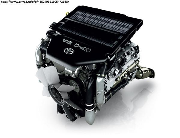 Дизельный двигатель 1VD-FTV