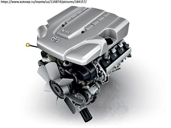 Бензиновый двигатель Toyota 2UZ-FE