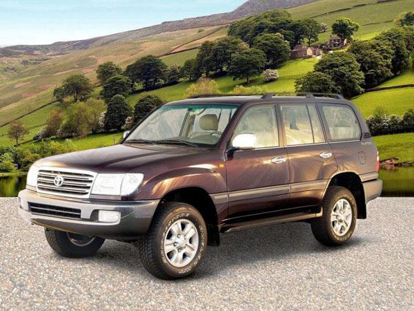 Toyota Land Cruiser 100 VX 2002 года