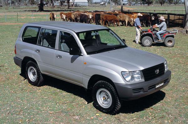 2002 Toyota Lancruiser - Standard