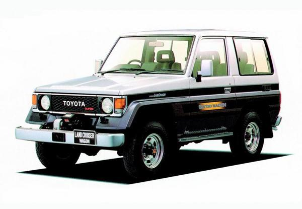 Toyota Land Cruiser 70 Prado