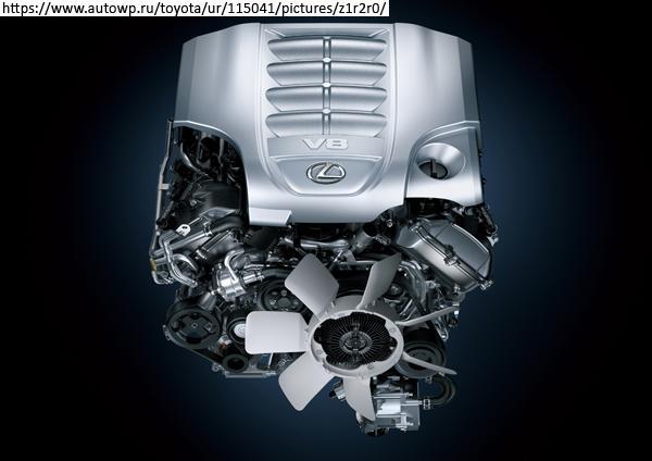 Двигатель Toyota 3UR-FE