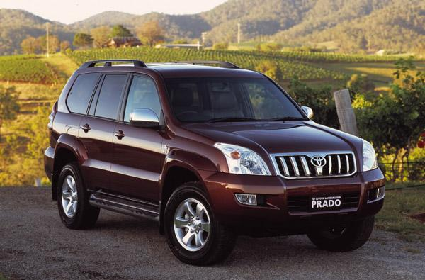 Toyota Land Cruiser Prado 120 2006 года