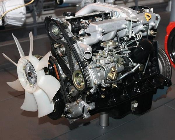 Силовой агрегат 1HD-T