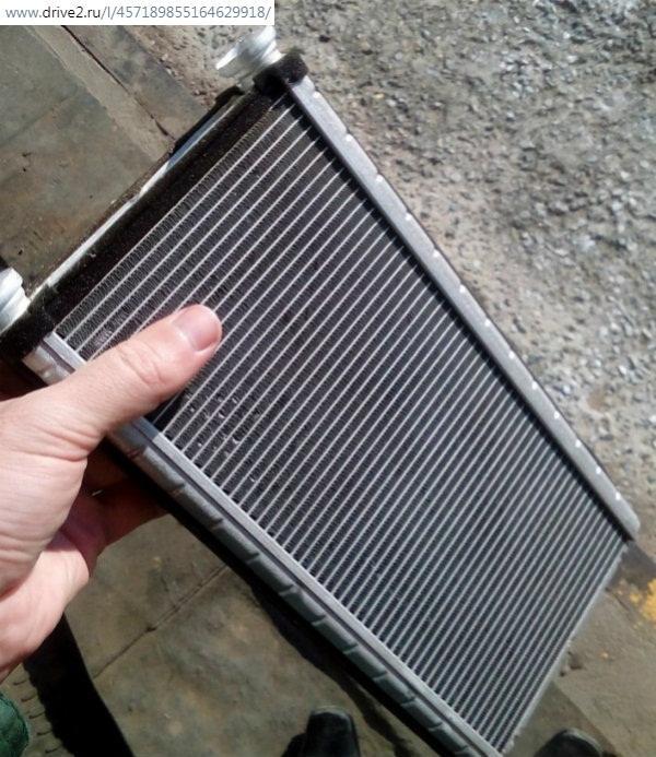Снятие радиатора печки Прадо 120
