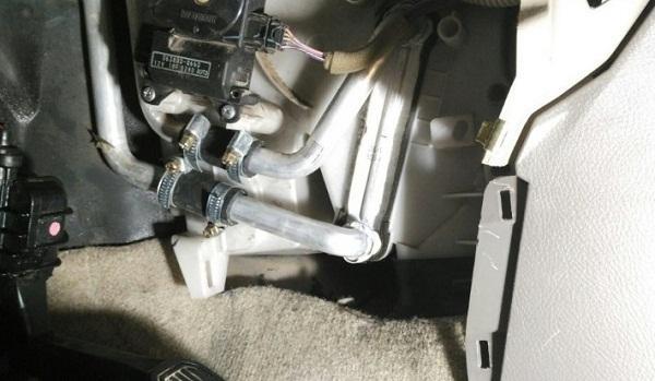 Промывка радиатора Prado 120