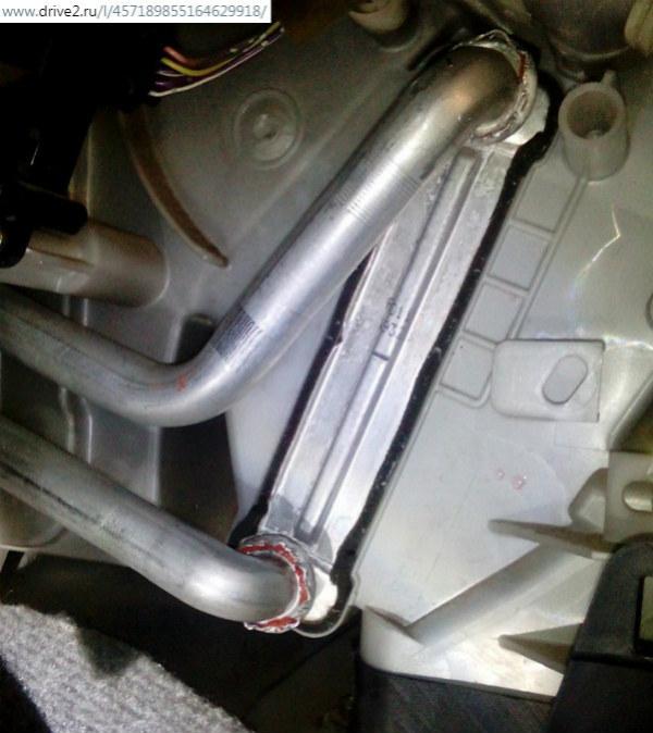 Промывка радиатора Прадо 120