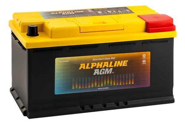 АКБ на Prado 120 4 литрас технологией AGM