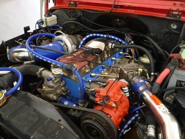 двигатель Toyota Mega Cruiser