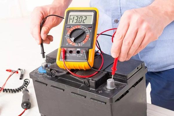 Проверка аккумуляторной батареи TLC200