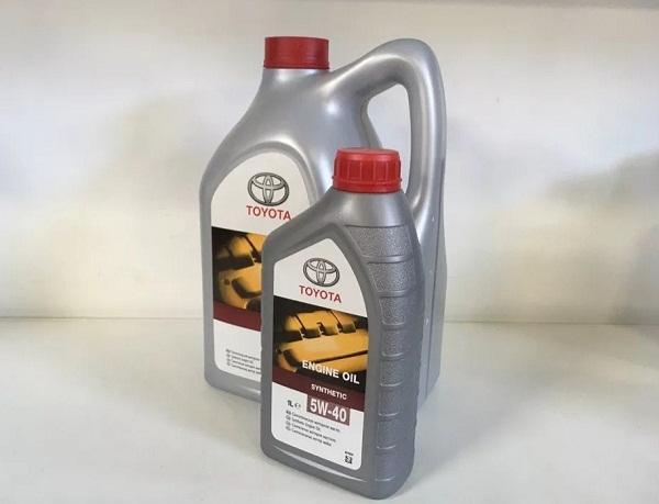 Toyota «ENGINE OIL 5W-40»