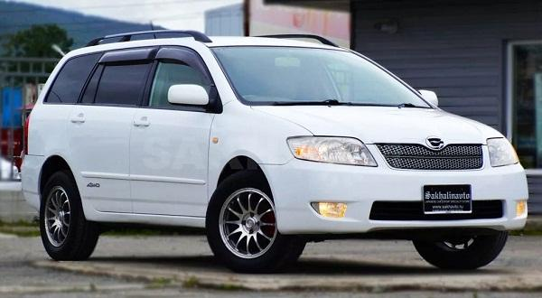 Toyota Corolla Fielder, 2006 года