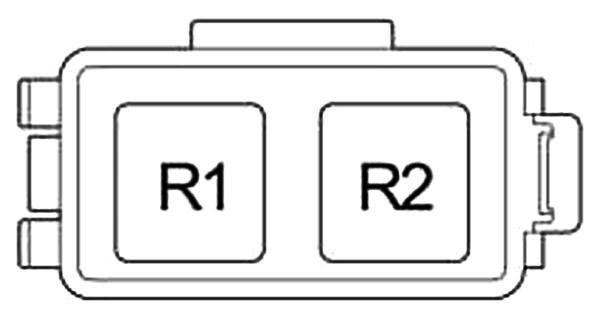 Схема блока реле №1