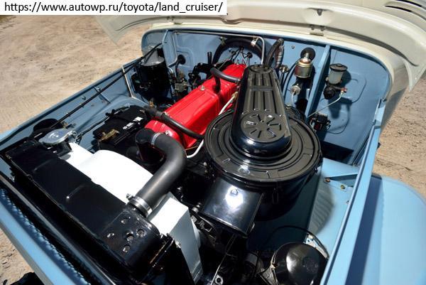 Под капотом Land Cruiser 40