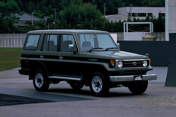 Toyota Land Cruiser J77
