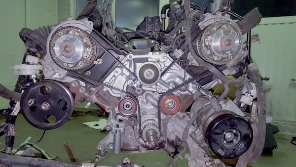 Привод ГРМ двигателя 2UZ-FE