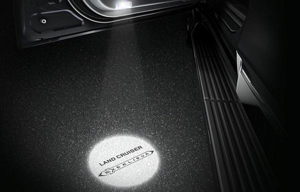 Световая проекция Тойота Excalibur
