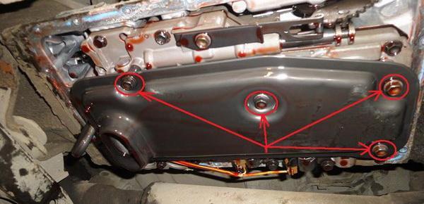 описание замены смазки в АКПП Prado120
