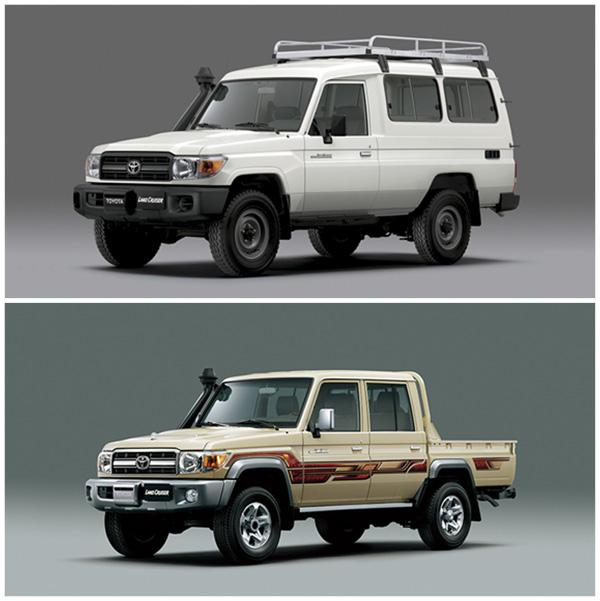 Toyota Land Cruiser J78 иToyota Land Cruiser J79