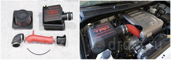 Холодный впуск (нулевик) TRD для Toyota Tundra или Sequoia 5.7L 3UR-FE
