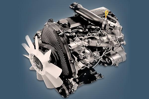 Дизельныйчетырехцилиндровыйдвигатель Toyota 5L-Е.