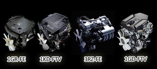 Обновленные двигатели для Land Cruiser Prado 150