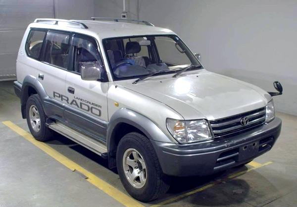 Toyota Land Cruiser 1997 года