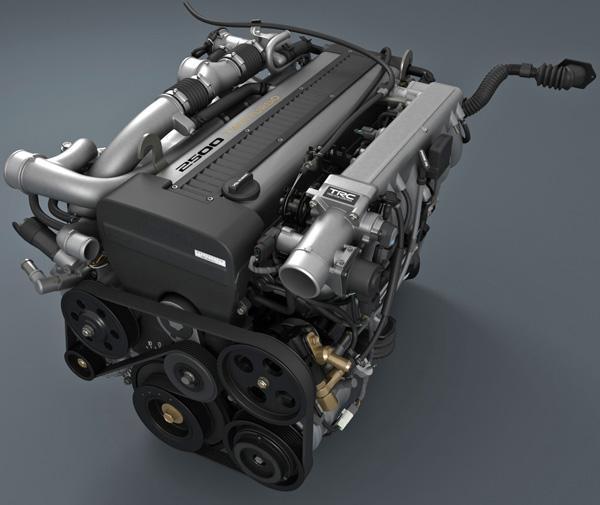 Двигатель 1JZ-GTE