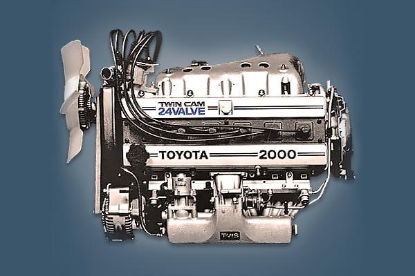 24 клапанный двигатель Toyota 1G-GEU