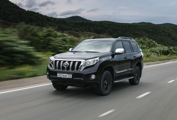 Toyota Land Cruiser Prado 150 - комплектация Style