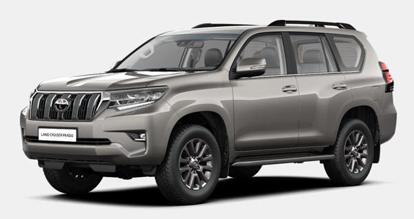 Toyota Land Cruiser Prado 150 - комплектация Люкс Safety