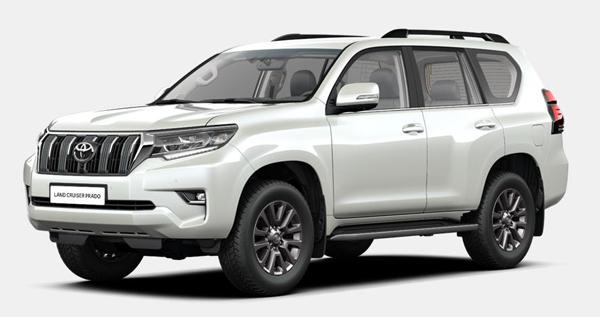 Toyota Land Cruiser Prado 150 - комплектация Престиж