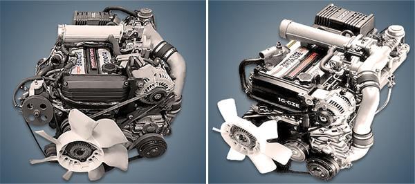 Toyota 1G-GZEU/GZE с электронным зажиганием.