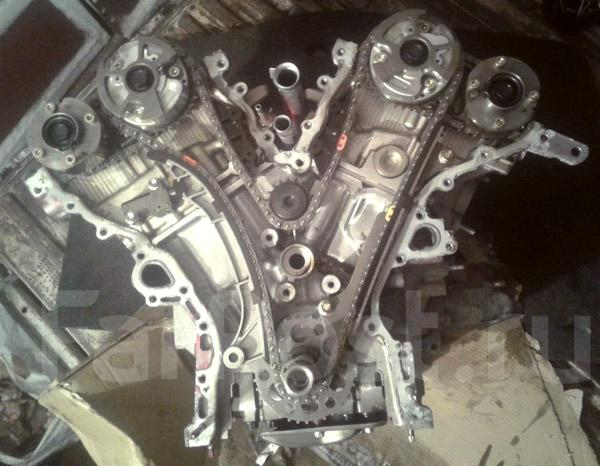 Цепной привод двигателя 4GR-FSE