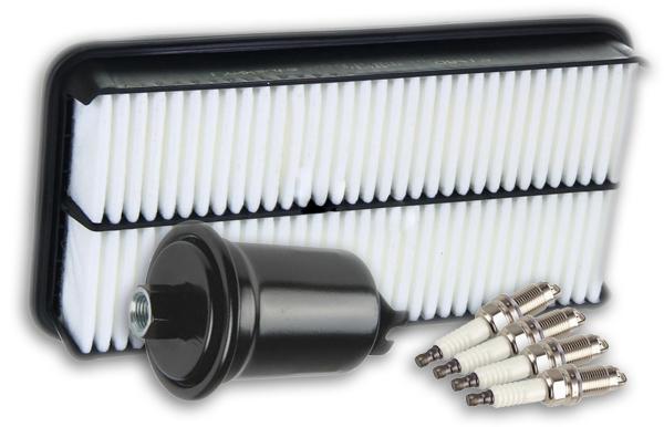 Cвечизажигания, воздушный и топливный фильтры