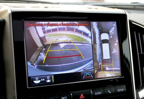 Система кругового обзора Land Cruiser 200