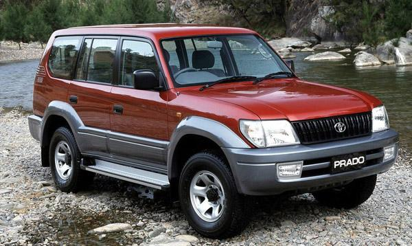 Land Cruiser Prado 90 с дисками R16
