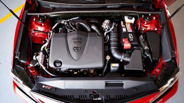 Toyota Камри TRD под капотом