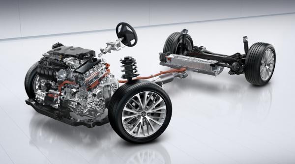 ходовая Toyota Камри 70 Hybrid