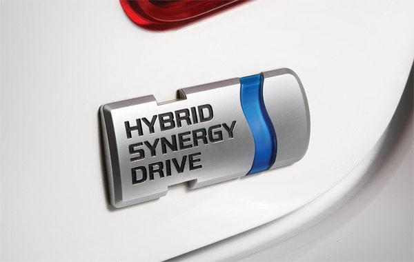 шильдик Hybrid SYNERGY DRIVE